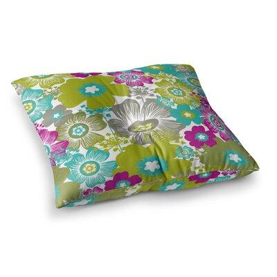 Nicole Ketchum Little Bloom Square Floor Pillow Size: 23 x 23