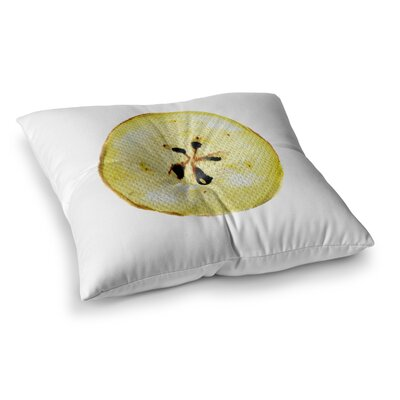 Theresa Giolzetti Apples Square Floor Pillow Size: 23 x 23