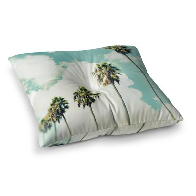 Richard Casillas Paradise and Heaven Square Floor Pillow Size: 23 x 23