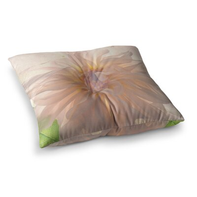 Robin Dickinson Buy Her Flowers Square Floor Pillow Size: 26 x 26