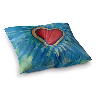Padgett Mason Love Shines on Square Floor Pillow Size: 26 x 26