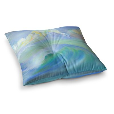Theresa Giolzetti Jelly Fish Square Floor Pillow Size: 26 x 26