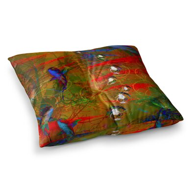 Malia Shields Under the Sea 1/2 Digital Square Floor Pillow Size: 23 x 23