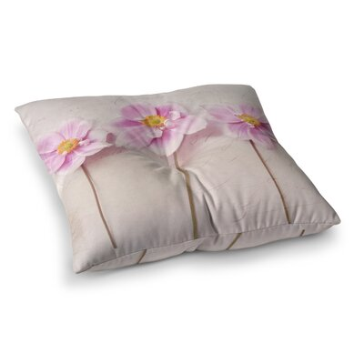 Sylvia Cook Anemone Trio Square Floor Pillow Size: 23 x 23