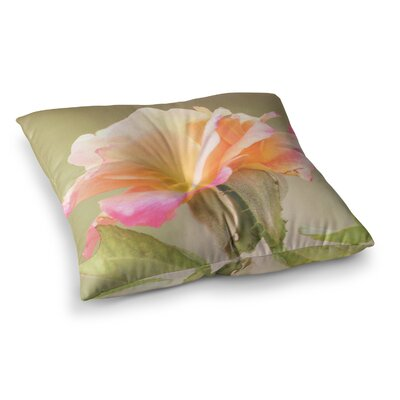 Sylvia Coomes Rose In Full Bloom Square Floor Pillow Size: 23 x 23