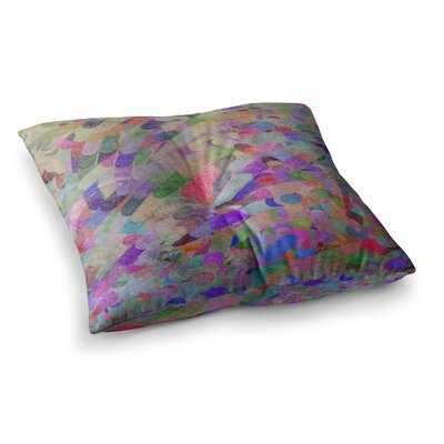 Marianna Tankelevich Abstract Square Floor Pillow Size: 26 x 26