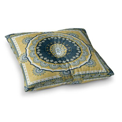 Nandita Singh Chakra Digital Square Floor Pillow Size: 26 x 26