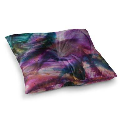 Malia Shields Bubble Series #5 Square Floor Pillow Size: 26 x 26