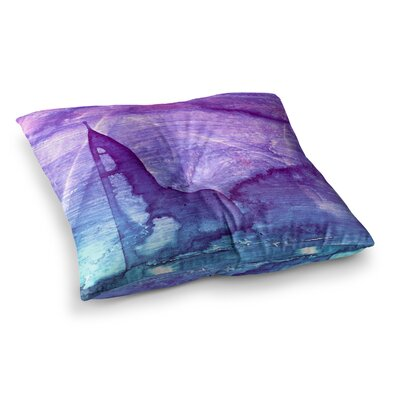 Malia Shields Abstract Series 2 Square Floor Pillow Size: 26 x 26
