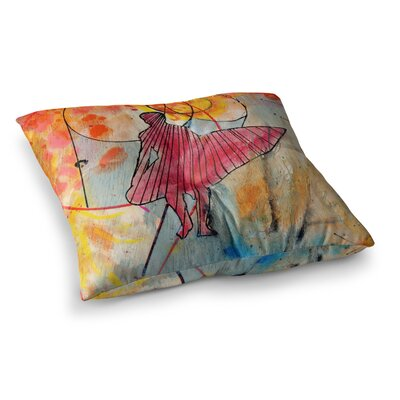 Nathan Gibbs Art Untold Beauty Square Floor Pillow Size: 23 x 23