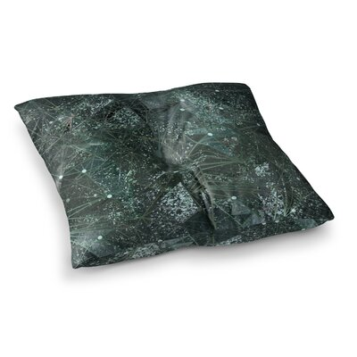 Marianna Tankelevich Aventurine Space Digital Square Floor Pillow Size: 26 x 26