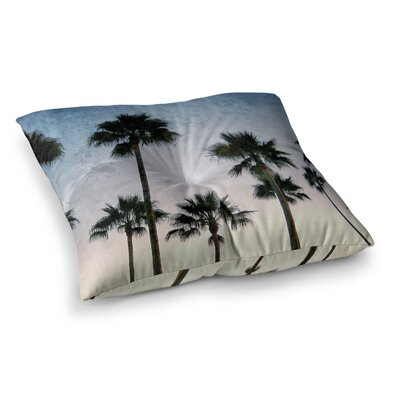 Richard Casillas Paradise Palms Square Floor Pillow Size: 23 x 23