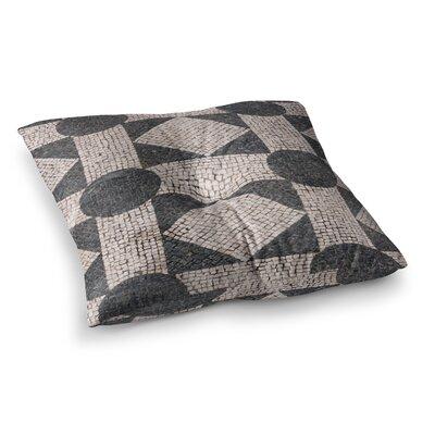 Susan Sanders Mosaic Square Floor Pillow Size: 23 x 23