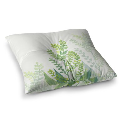 Viviana Gonzalez Botanical Vibes 06 Digital Square Floor Pillow Size: 26 x 26