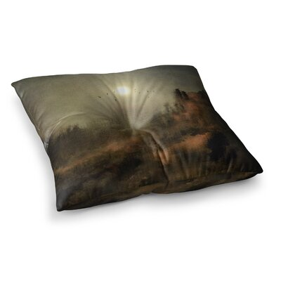 Viviana Gonzalez Calling the Sun Square Floor Pillow Size: 26 x 26
