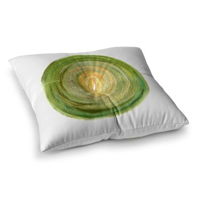 Theresa Giolzetti Leeks Square Floor Pillow Size: 26 x 26