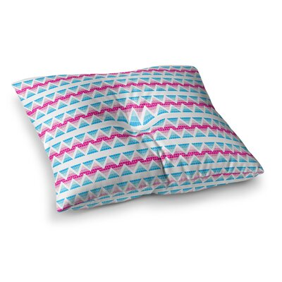 Apple Kaur Designs Swimming Pool Tiles Square Floor Pillow Size: 26 x 26