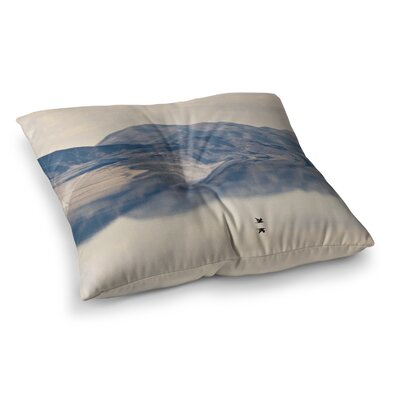 Sylvia Coomes Reflective 1 Square Floor Pillow Size: 23 x 23