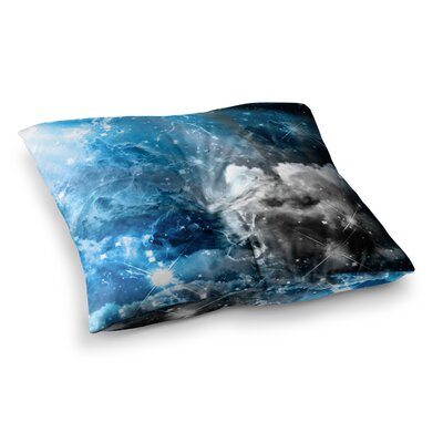Shirlei Patricia Muniz We are Waiting for.. Abstract Square Floor Pillow Size: 26 x 26