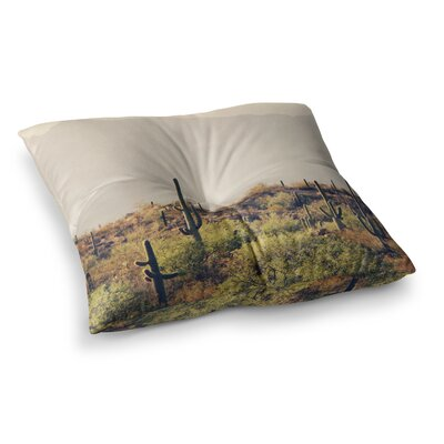 Sylvia Coomes Desert Landscape 5 Photography Square Floor Pillow Size: 23 x 23