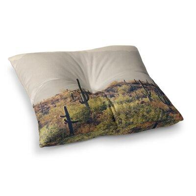 Sylvia Coomes Desert Landscape 5 Photography Square Floor Pillow Size: 26 x 26