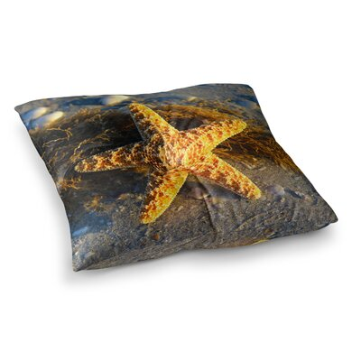 Philip Brown Starfish Square Floor Pillow Size: 23 x 23