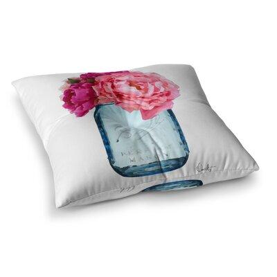 Oriana Cordero Perfect Mason Square Floor Pillow Size: 23 x 23
