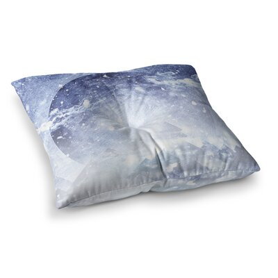 Ulf Harstedt Even Mountains Get Cold Square Floor Pillow Size: 23 x 23
