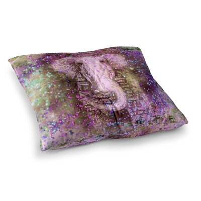 Marianna Tankelevich Dust Magic Elephant Sparkle Square Floor Pillow Size: 26 x 26
