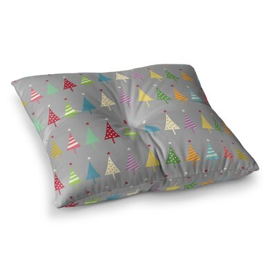 Snap Studio Crazy Trees Square Floor Pillow Size: 26 x 26