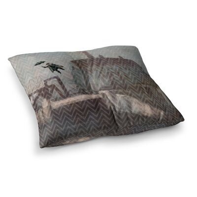 Suzanne Carter Away Square Floor Pillow Size: 26 x 26
