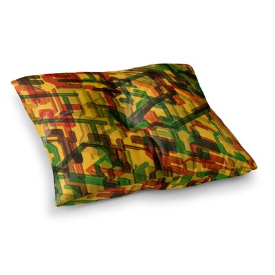 Roberlan Three Dee Square Floor Pillow Size: 23 x 23