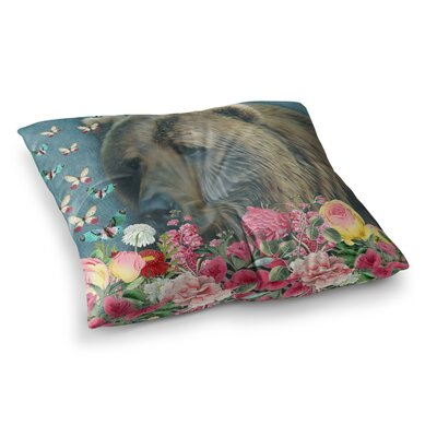 Suzanne Carter Summer Garden Square Floor Pillow Size: 23 x 23