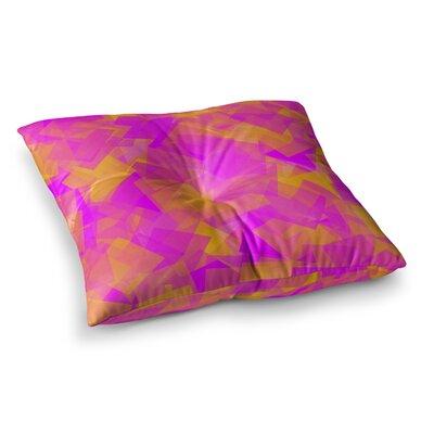 Trebam Papir Digital Square Floor Pillow Size: 23 x 23