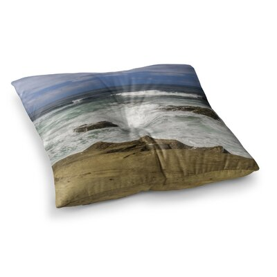 Nick Nareshni Exposed Above Water Sandstone Photography Square Floor Pillow Size: 26 x 26