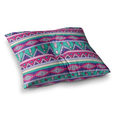 Sarah Oelerich Tribal Square Floor Pillow Size: 26 x 26