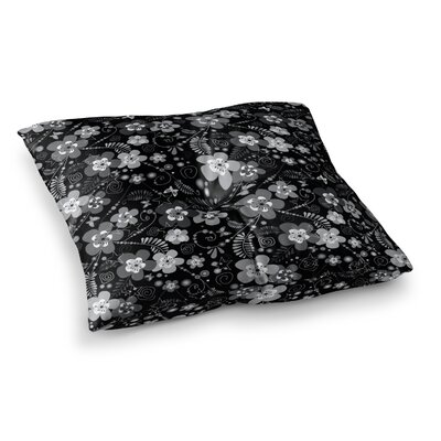 Suzanne Carter Diasy Daisy Square Floor Pillow Size: 23 x 23