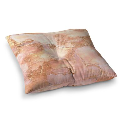 Rosie Brown Bronze It Paint Square Floor Pillow Size: 23 x 23