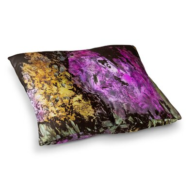 Rosie Brown Garden Glows Square Floor Pillow Size: 23 x 23