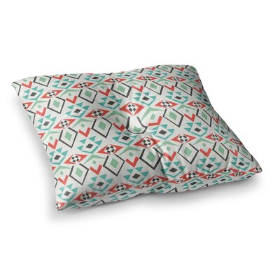 Pom Graphic Design Tribal Marrakech Square Floor Pillow Size: 26 x 26