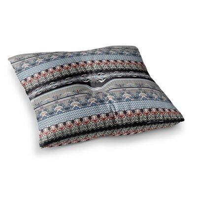 Victoria Krupp Nouveau Deco Square Floor Pillow Size: 23 x 23