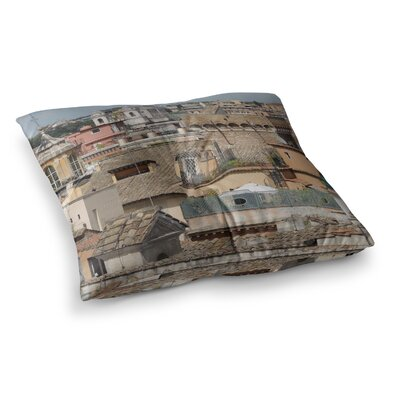 Nick Nareshni Florence Italy Hillside Photography Square Floor Pillow Size: 23 x 23