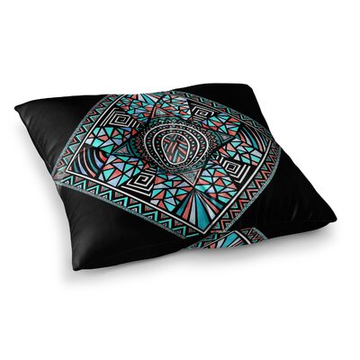 Pom Graphic Design Geo Glass Square Floor Pillow Size: 23 x 23