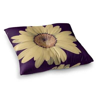 Robin Dickinson Half Crazy Square Floor Pillow Size: 26 x 26