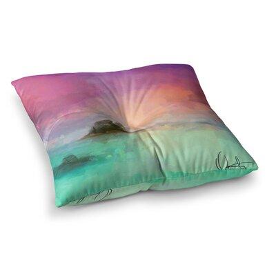 Oriana Cordero Tenerife Square Floor Pillow Size: 26 x 26