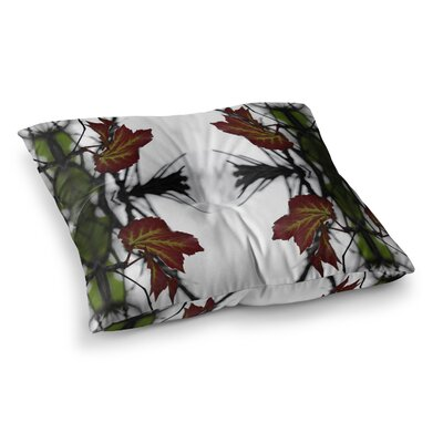 Pia Schneider Leaves Square Floor Pillow Size: 26 x 26