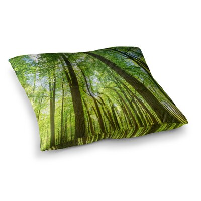 Susan Sanders Tree Sky Photography Square Floor Pillow Size: 26 x 26