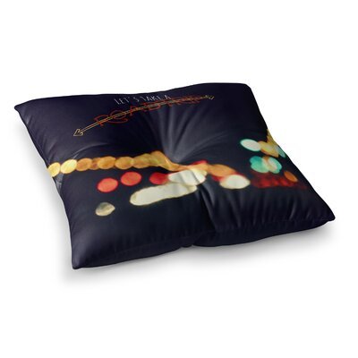 Robin Dickinson Road Trip Square Floor Pillow Size: 26 x 26
