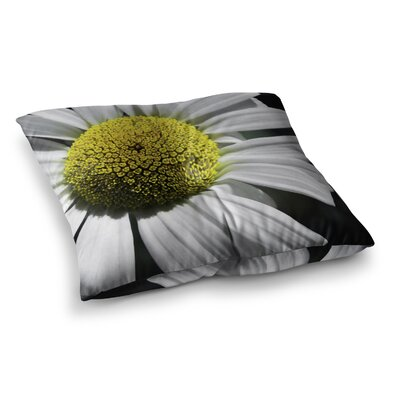 Nick Nareshni Open Daisy Square Floor Pillow Size: 26 x 26