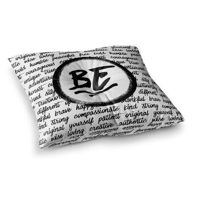 Noonday Design Be... Square Floor Pillow Size: 23 x 23
